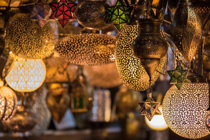 Egy nagy halom marokkói hangulatú hely, ami garantáltan elvarázsol