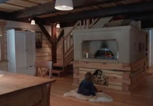 Egy faház születésének teljes története! VIDEÓ!