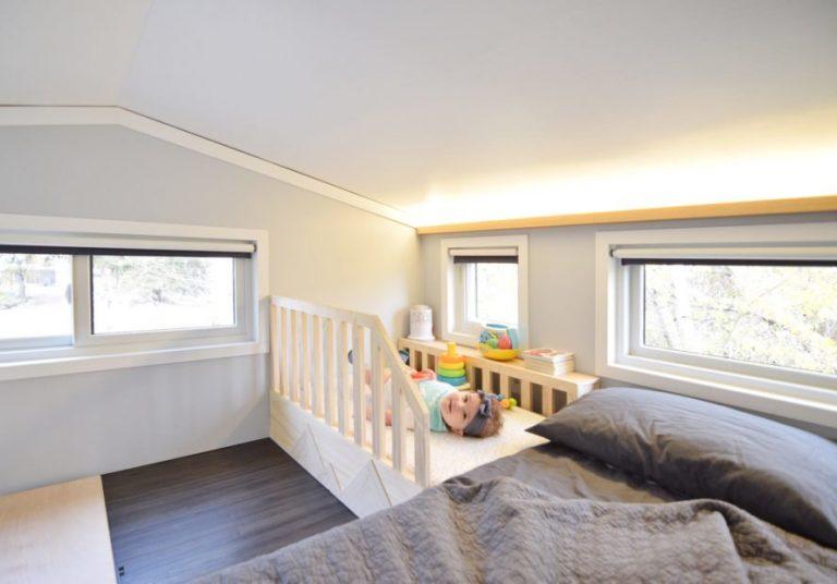 Ebben a 19 nm-es miniházban él a fiatal pár néhány hónapos babájukkal - Eláruljuk, miért!