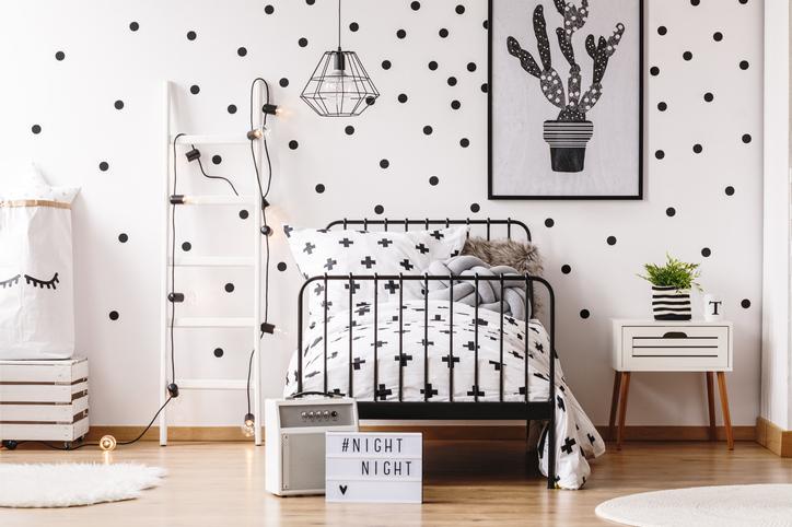 Ott a pont! 7 vidám és egyszerű ötlet arra, hogyan dekorálhatod pöttyökkel a falakat