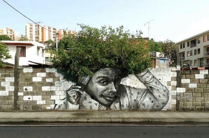 Ezt látnod kell! Hajmeresztő házfal dekor a természetre alapozva
