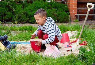 Homokozó házilag - Két tucat zseniális ötlet a gyerekek legnagyobb örömére