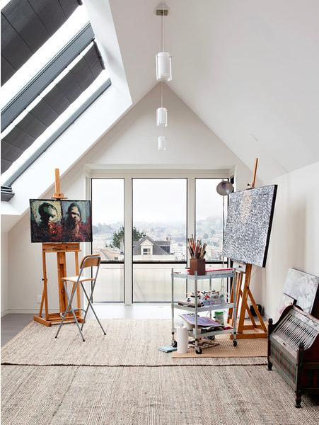 Inspirálódj! Íme, a legszebb otthoni műtermek és műhelyek egy helyen