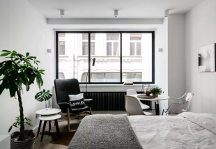 budapesti art deco modern lakás
