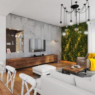 Természet az otthonodban: növényfalak belső terekben