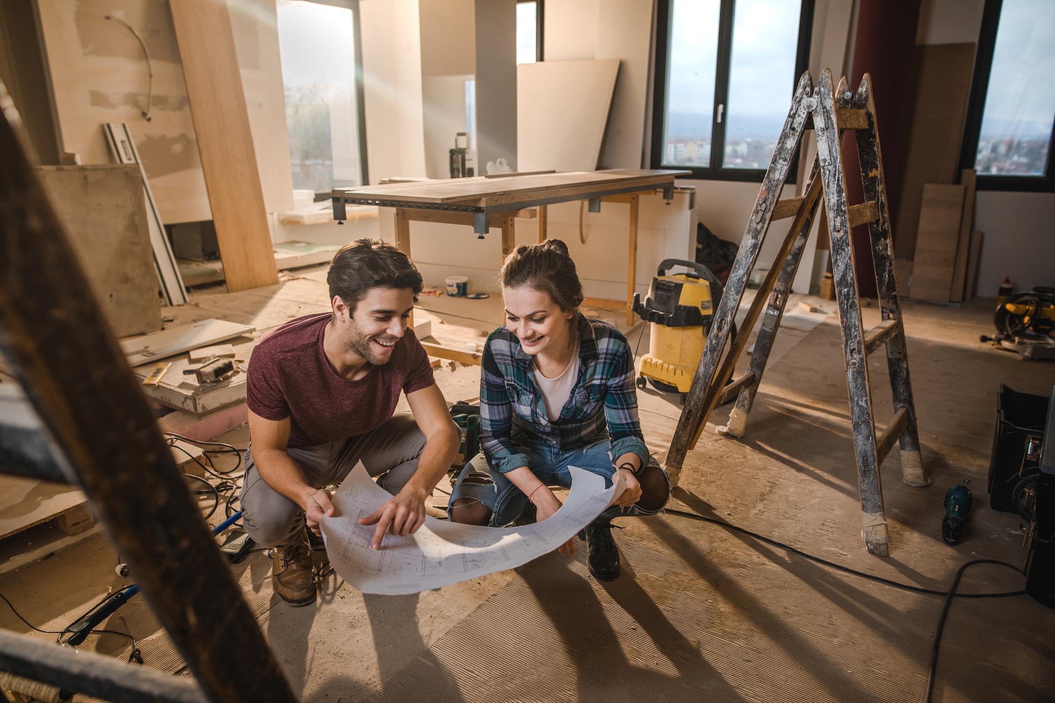 családi ház felújítása