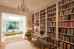 privát könyvtár otthon