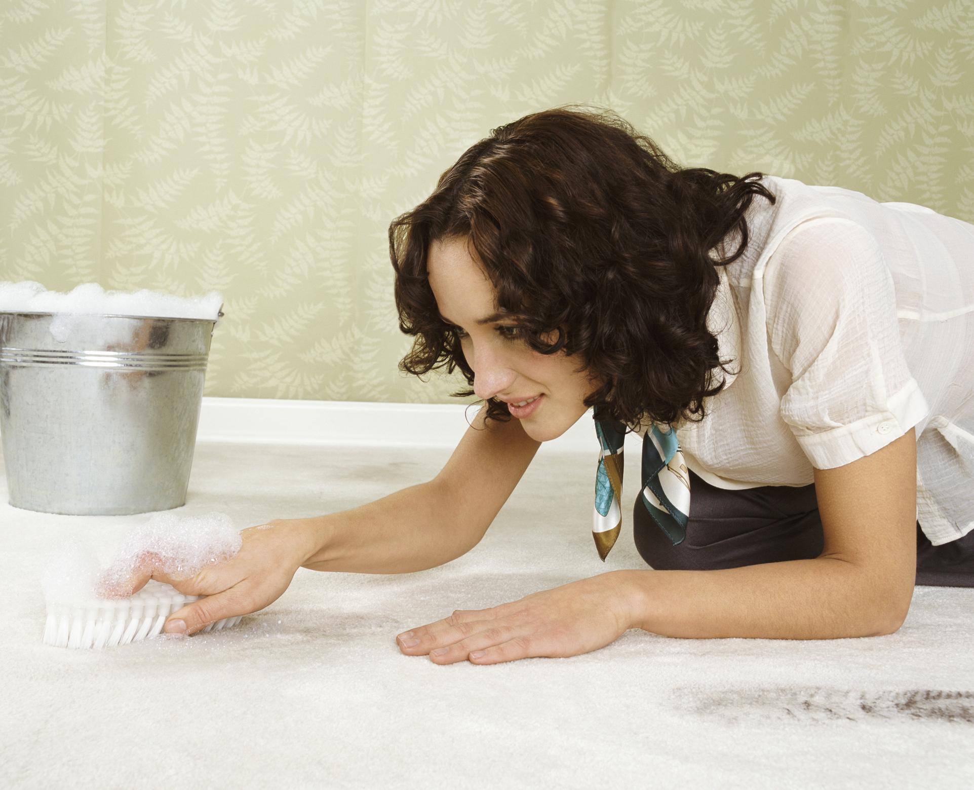 szőnyegtisztítás házilag