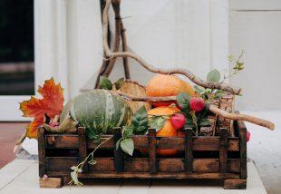 őszköszöntő dekoráció