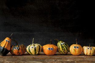 halloween tök ünnepi dekor
