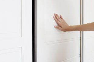 beépített szekrény házilag