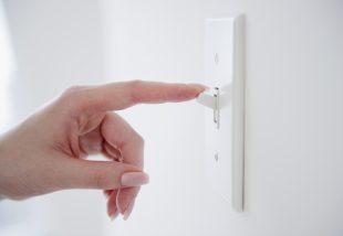 Szemrevaló villanykapcsoló - Dekoráld ezt is!