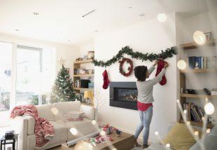 karácsonyi dekorálás októberben