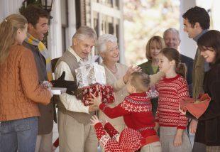 Karácsonyi vendégfogadás