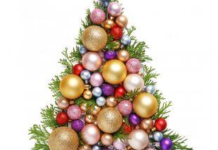 színpárok a karácsonyfán