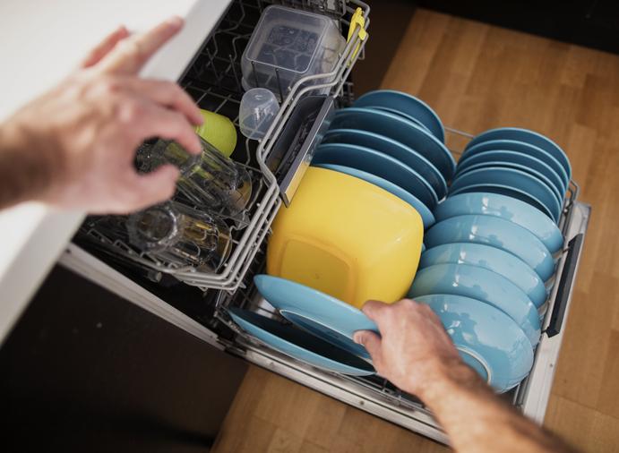 A mosogatógép bepakolása – Nem mindegy, hogyan történik