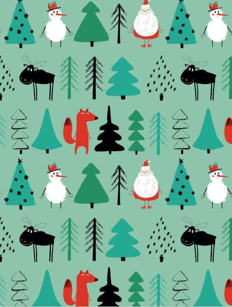 Adventi Megoldások #17 - 6 ingyenesen letölthető karácsonyi csomagolópapír