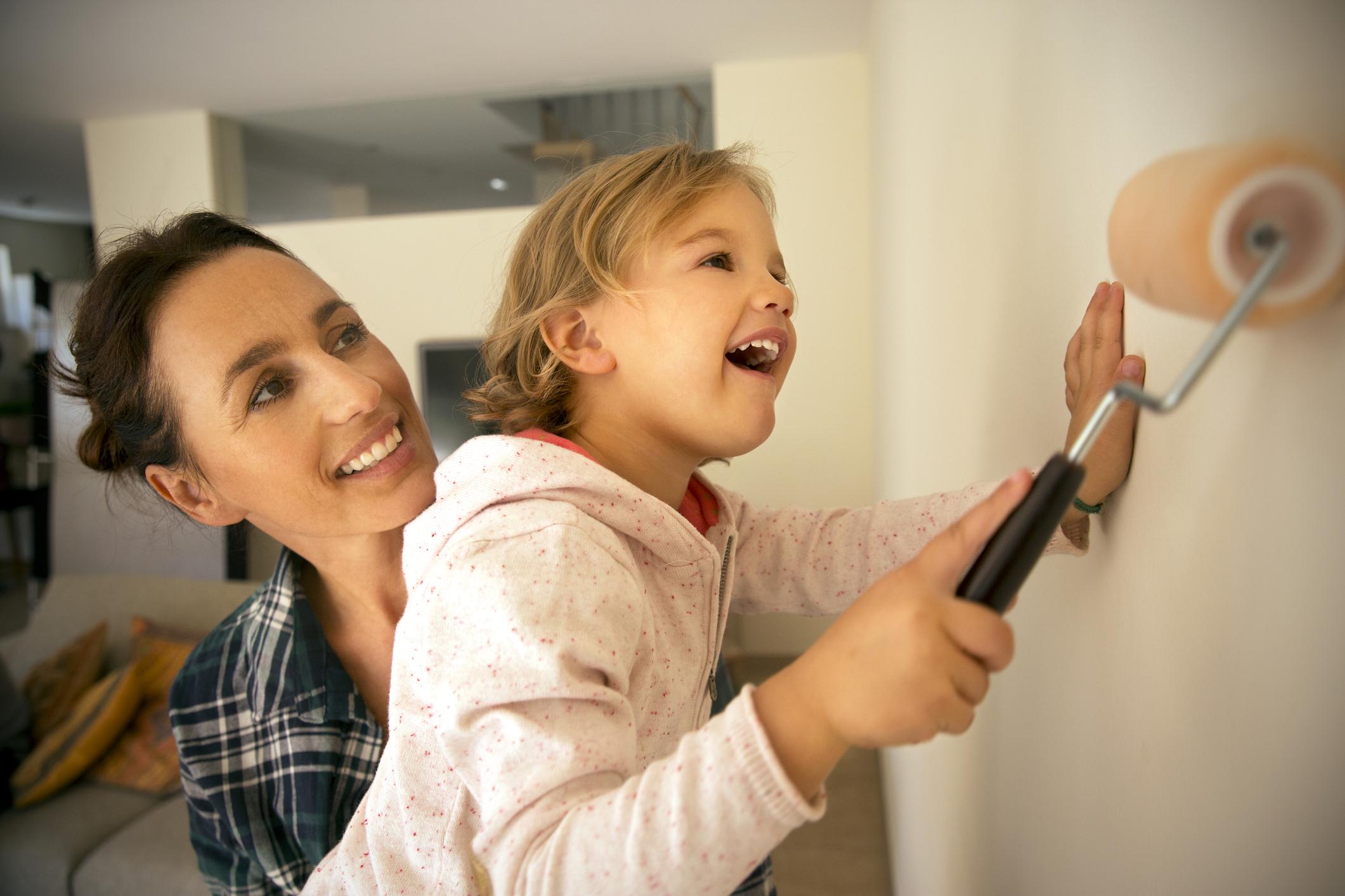 Mosható falfesték – A kisgyermekes családok megmentője