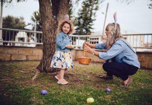 húsvéti kertdekor