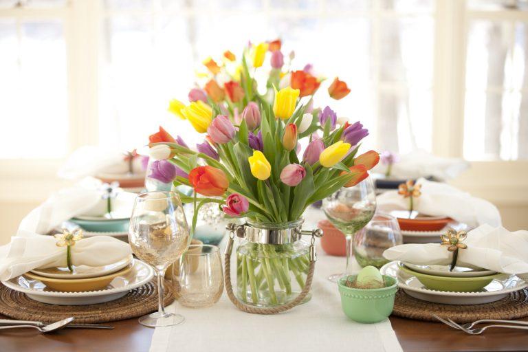 Húsvéti asztaldekor ötletek – Friss, színes, vidám