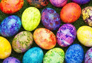 alternatív tojásdekor