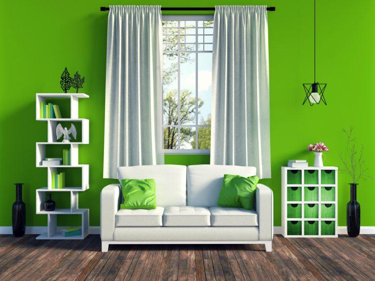 Lakberendezés a zöld szín jegyében – Így használd!