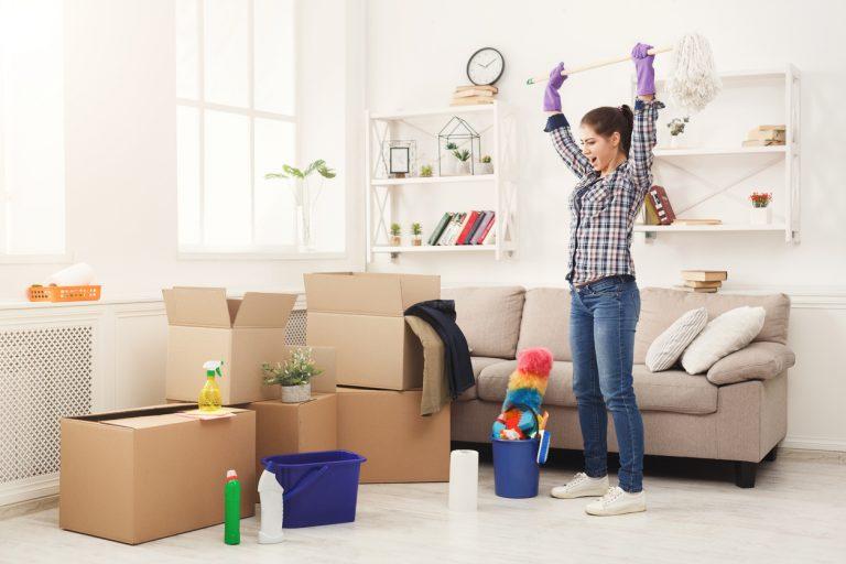 Az ideális takarítási sorrend – Így haladj lépésről lépésre