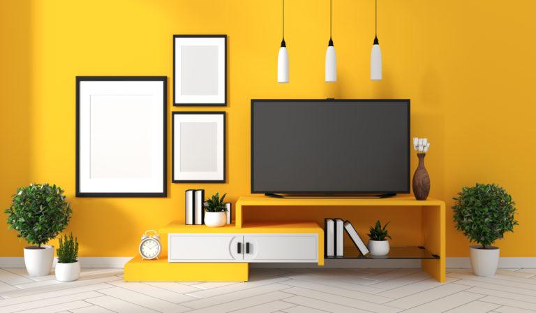 A legszebb sárga nappalik – Így csempéssz vidámságot otthonodba