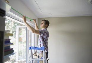 műanyag ablakkeret festése