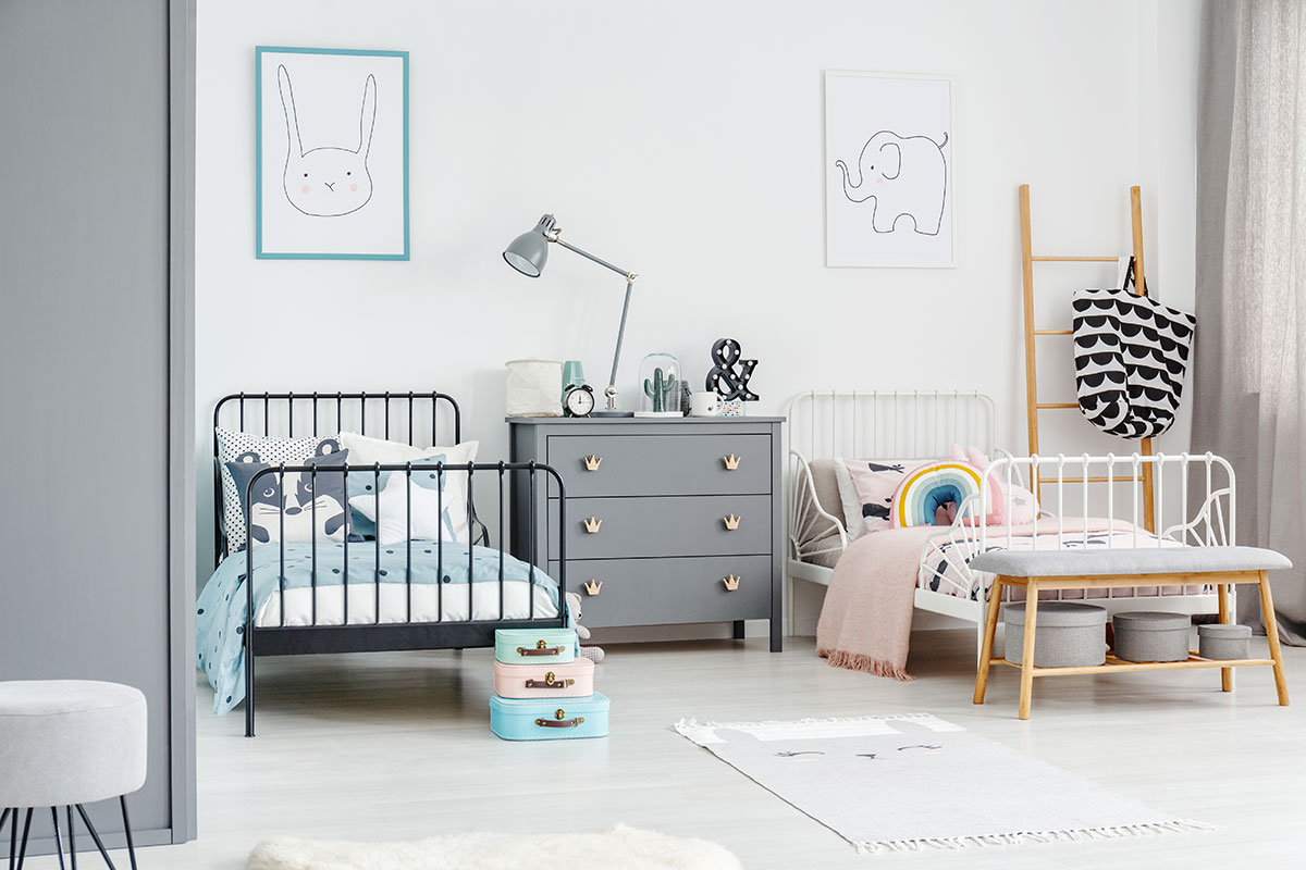 Szivárvány dekor a gyerekszobában – Az örök jókedv garanciája