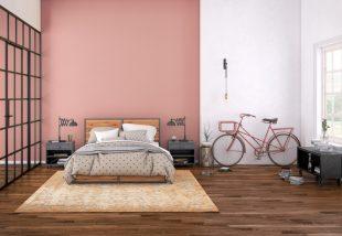 rózsaszín a lakásban