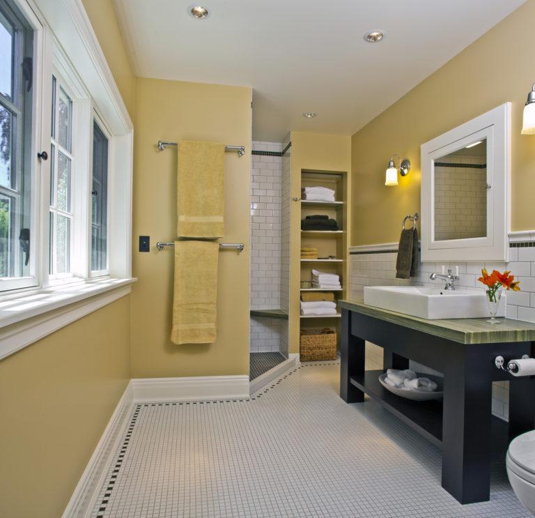 Sárga fürdőszoba inspirációk – Egyszerre merész és elegáns