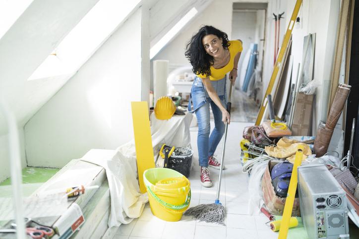 Felújítás utáni takarítás – 5 tipp, amivel sokat könnyíthetsz a helyzeteden