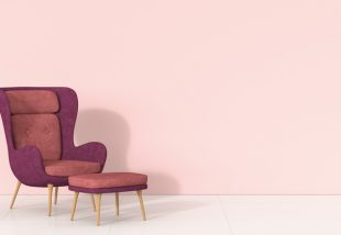 rózsaszín falfesték