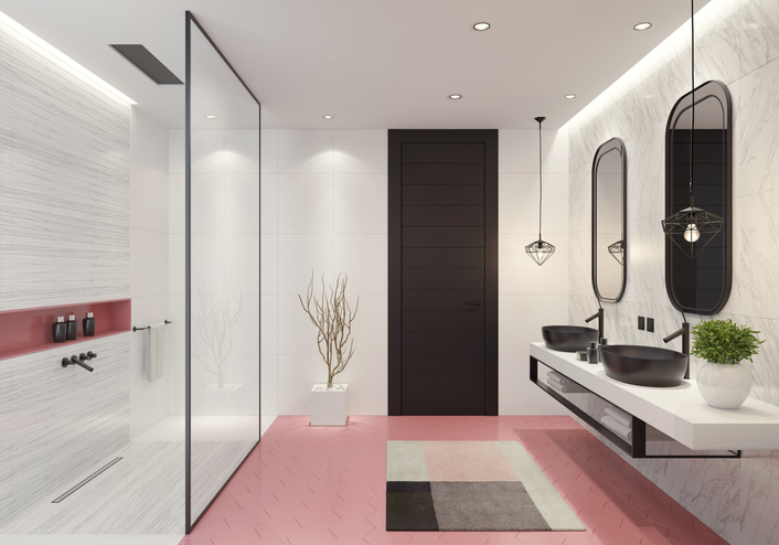 Rózsaszín a fürdőben – Így frissítheted magad fel vele