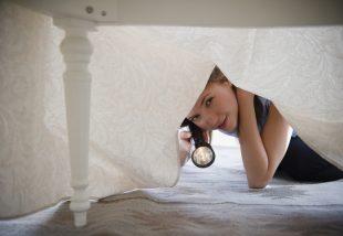 ágy alatti tér