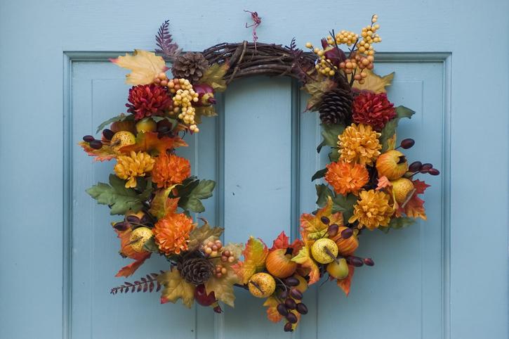 DIY őszi ajtódísz – Készítsd el, és dobd fel vele a bejárati ajtót