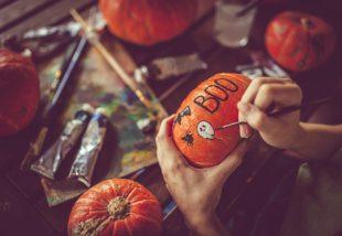halloweeni tökfaragás