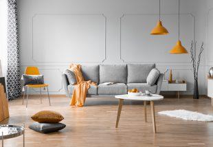 6 szuper enteriőr az ősz legszebb színében – Éljen a narancssárga nappali