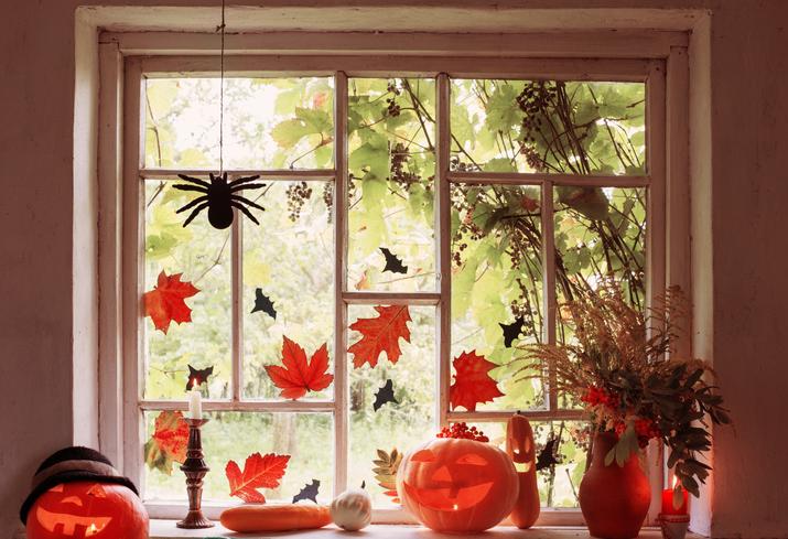 A legütősebb halloweeni ablakdekorációk – Ezekkel díszítsd a lakásod idén