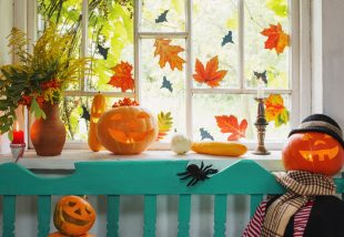 újrahasznosított őszi dekorációk