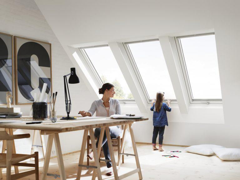 Kreativitást, teljesítményt ösztönző alkotótér  - dolgozószoba máshogyan