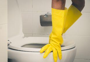 WC tisztítás