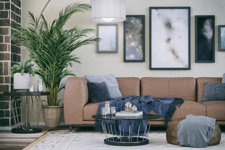 Barna falak a lakásban – Így használd ezt az otthonos színt