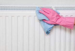 radiátor tisztítása