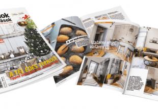 Megjelent az Otthonok&Megoldások legújabb, téli száma – Keresd az újságárusoknál!