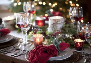 10 bámulatos és egyszerű karácsonyi asztali dekoráció