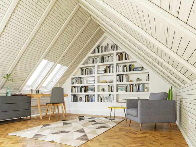 Beépített szekrény ötletek tetőtérbe – Helykihasználás mesterfokon
