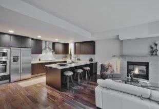 konyha és nappali egyben