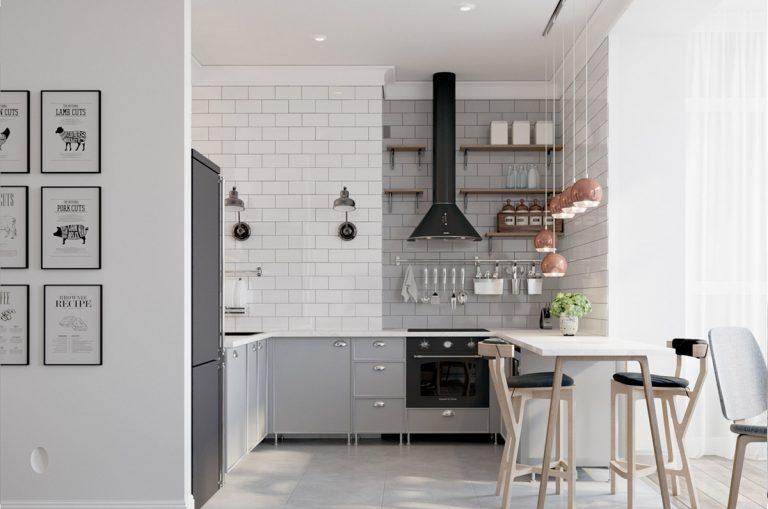 U alakú modern konyha – Nem csak praktikus, de dizájnos is